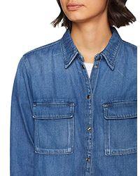 Nina Camicia di Pepe Jeans in Blue
