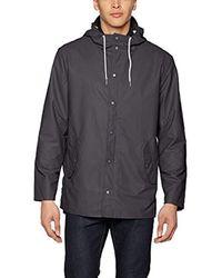 PM401288, Chaqueta Impermeable Para Hombre, Gris (Elephant), X-Large Pepe Jeans de hombre de color Gray