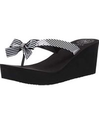 Wedge Flip-Flop di Guess in White