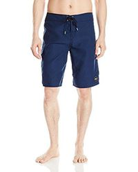 O'neill Sportswear - Blue Santa Cruz Solid Boardshort for Men - Lyst