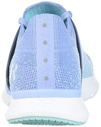 Under Armour Blue Threadborne Slingwrap Competition Running Shoes