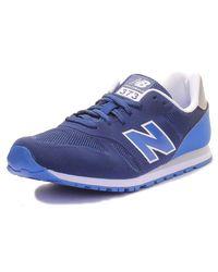 New Balance Blue 373 Sneaker Unisex Blau - Blau, 38,5