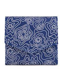 Petit portefeuille zippé Charlotte en cuir lisse Le Tanneur en coloris Blue