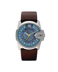 Analogique Quartz Montre avec Bracelet en Cuir DZ1399 Fossil pour homme en coloris Blue