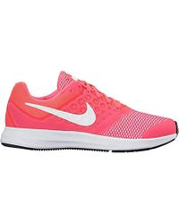 : Zapatilla Downshifter 7 (GS) Nike en coloris Pink