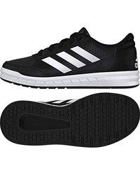 AltaSport K, Chaussures de Fitness Mixte Enfant Adidas pour homme en coloris Black