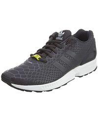 Adidas Originals Black Zx Flux Sneaker for men