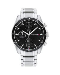 Tommy Hilfiger Multicolor Analog Quartz Watch With Stainless Steel Strap 1791835 for men