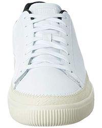 PUMA Sneaker Basket Trim in White für Herren