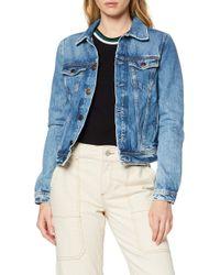 Core Jacket T-shirt Pepe Jeans de color Blue