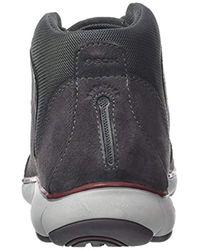 Geox Herren U Nebula A Hohe Sneaker in Gray für Herren