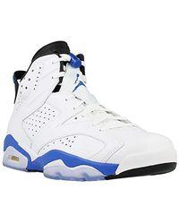 Air Jordan 6 Retro, Chaussures de Sport Nike pour homme en coloris ...