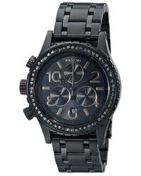 Nixon Black A4041879 38-20 Chrono Watch