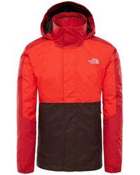 The North Face Kabru Triclimate Funktionsjacke in Red für Herren
