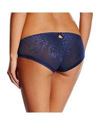 Body Make-up Blossom Hip Slip Donna di Triumph in Blue