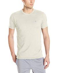 Champion Multicolor Double Dry Cotton Crew-neck Shirt for men
