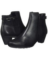 Gabor Black Shoes Comfort Sport Stiefel