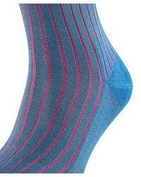 Falke Blue Shadow Socks, Opaque for men