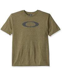 Oakley Green Dark Brush Heather O-bold Ellipse T-shirt Olive for men