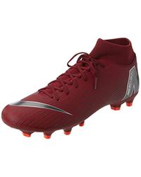Superfly 6 Academy FG/MG Nike de color Red