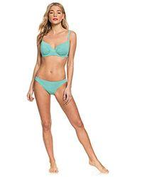 Roxy Blue Bügel-Bikinioberteil mit Körbchengröße D für