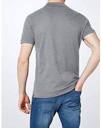 Lacoste Gray , Slim Fit Polo for men