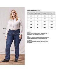 Plus-Size 414 Classic Straight Jeans Levi's en coloris Purple