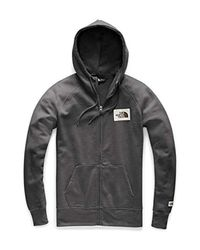 The North Face Gray Heritage Full Zip Hoodie