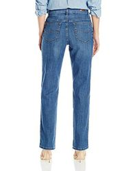 Lee Jeans Blue Relaxed Fit Straight Leg Jean