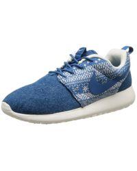 Nike Blue Sneaker WMNS Roshe One Winter blau EU 36.5