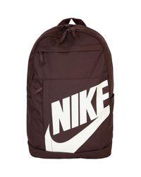 Zaino Marrone terra taglia di Nike in Brown