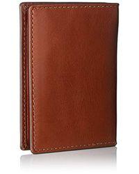 Fossil - Herren Geldbörse ? Hugh Bifold Kartenmäppchen, 's Wallet, Brown, 10.16x1.27x7.62 Cm (b X H T) for Men - Lyst