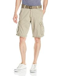 Lee Jeans - Natural Big Tall Dungarees New Belted Wyoming Cargo Short for Men - Lyst