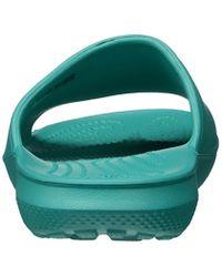 Crocs™ - Blue Unisex Classic Slide Sandal - Lyst