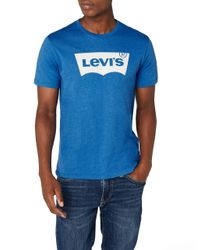 Levi's Blue Batwing Tee Amazon Exclusive T-shirt for men