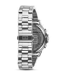 Reloj Multiesfera para Mujer de Cuarzo con Correa en Acero Inoxidable 1781787 Tommy Hilfiger de color Metallic