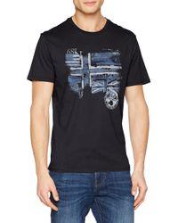 Sancy T-Shirt Napapijri pour homme en coloris Blue