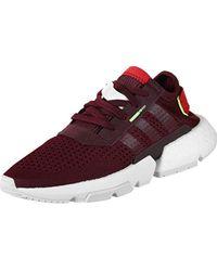Pod-s3.1 W, Chaussures de Fitness Femme Adidas en coloris Red