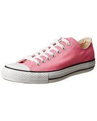 Converse - Pink Chuck Taylor All Star Canvas Low Top Sneaker for Men - Lyst