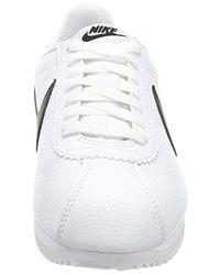 Classic Cortez Leather Nike pour homme en coloris White