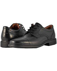 Rockport S Dressport Luxe Cap-toe Black Oxford for men