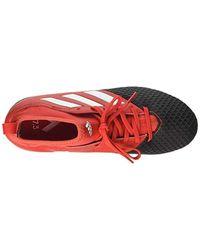 Ace 17.3 AG, Chaussures de Football Mixte Enfant Adidas pour homme en coloris Red