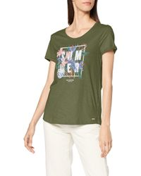 Tom Tailor Green Print T-Shirt