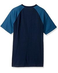 Levi's - Blue Wally Snow Jersey Short Sleeve Shirt for Men - Lyst