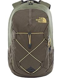 The North Face TNF Jester T0CHJ43NL Wanderrucksack Schulrucksack Rucksack 26 L T0CHJ43NL New Taupe Green/Four Leaf Clover in Multicolor für Herren