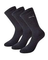 B079QMTD85-58593 Lot de 18 Paires de Chaussettes de Sport Crew Socks PUMA pour homme en coloris Blue