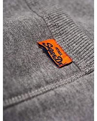 Superdry Gray M70004tr Trousers Man for men