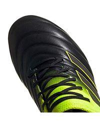 Copa 19.1 FG, Chaussures de Football Adidas pour homme en coloris Black