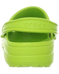 Crocs™ Green And Classic Clog Comfort Slip On Casual Water Shoe Lightweight