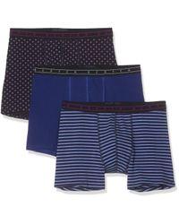 Scotch & Soda Classic Boxer Short in solid in Blue für Herren